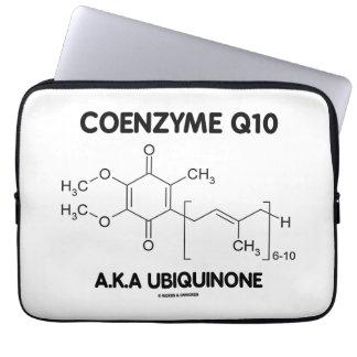 Molécula de la sustancia química de la ubiquinona manga portátil