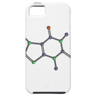 Molécula del cafeína funda para iPhone SE/5/5s