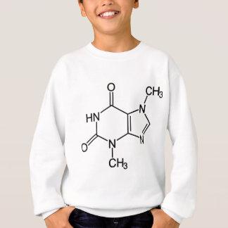 Molécula del chocolate de la tebromina sudadera