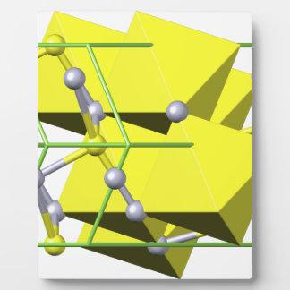 Molécula del cinabrio
