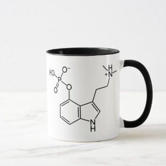 Molécula mágica de la seta del Psilocybin