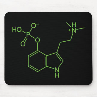 Molécula mágica de la seta del Psilocybin Alfombrillas De Ratones