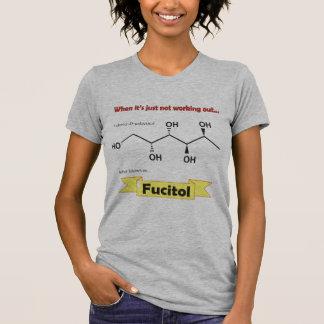 Molécula orgánica de Fucitol Camiseta