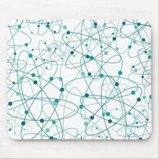 Molecular Atoms Mouse Pad