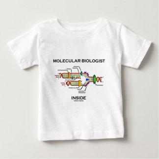 Molecular Biologist Inside (DNA Replication) Baby T-Shirt