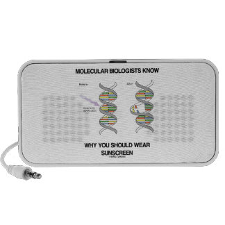 Molecular Biologists Know Why You Wear Sunscreen Mini Speaker