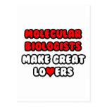 Molecular Biologists Make Great Lovers Postcard