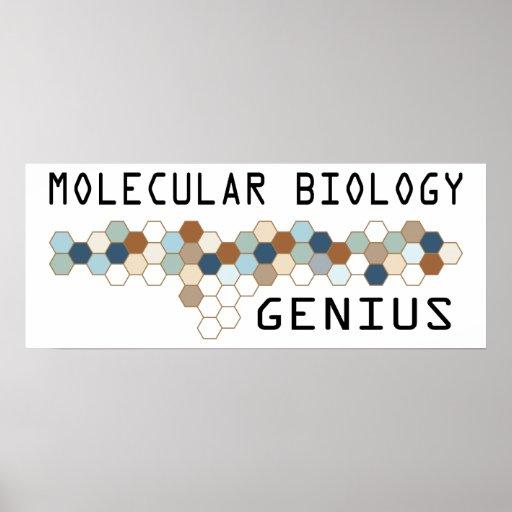 Molecular Biology Genius Posters