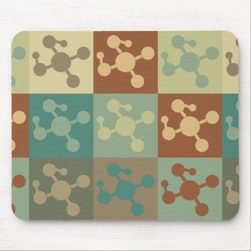 Molecular Biology Pop Art Mouse Pad