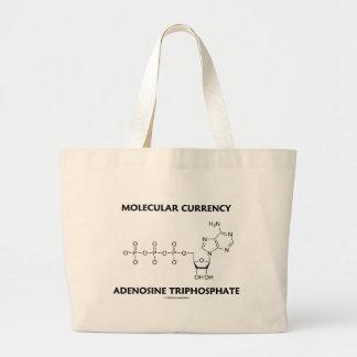Molecular Currency Adenosine Triphosphate (ATP) Large Tote Bag