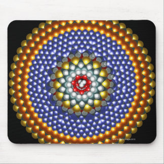 Molecular Differential Gear Mouse Pad