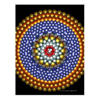 Molecular Differential Gear Postcard