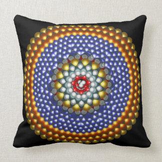 Molecular Differential Gear Throw Pillow