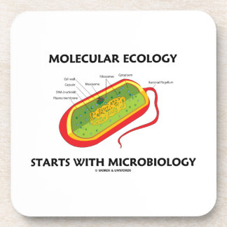 Molecular Ecology Starts With Microbiology Coasters
