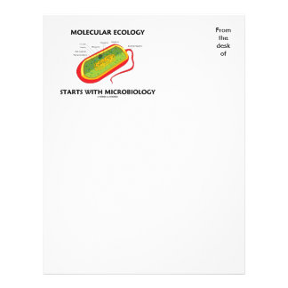 Molecular Ecology Starts With Microbiology Letterhead