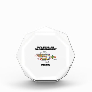 Molecular Gastronomist Inside (DNA Replication) Acrylic Award