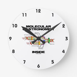 Molecular Gastronomist Inside (DNA Replication) Round Clock