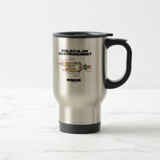 Molecular Gastronomist Inside (DNA Replication) Travel Mug