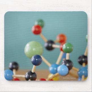 Molecular model mouse pad