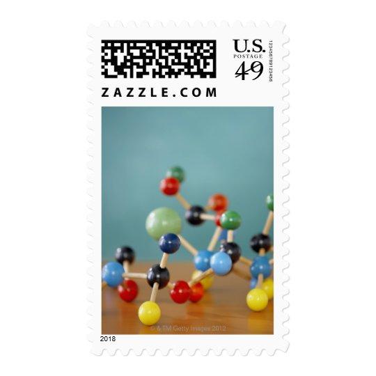 Molecular model postage
