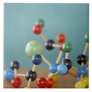 Molecular model tiles