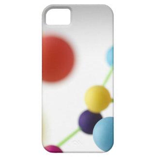 Molecular structure. iPhone 5 case