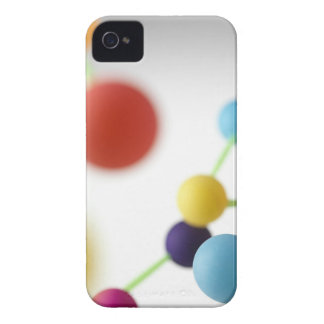 Molecular structure. iPhone 4 cover