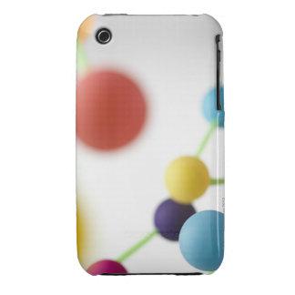 Molecular structure. iPhone 3 case
