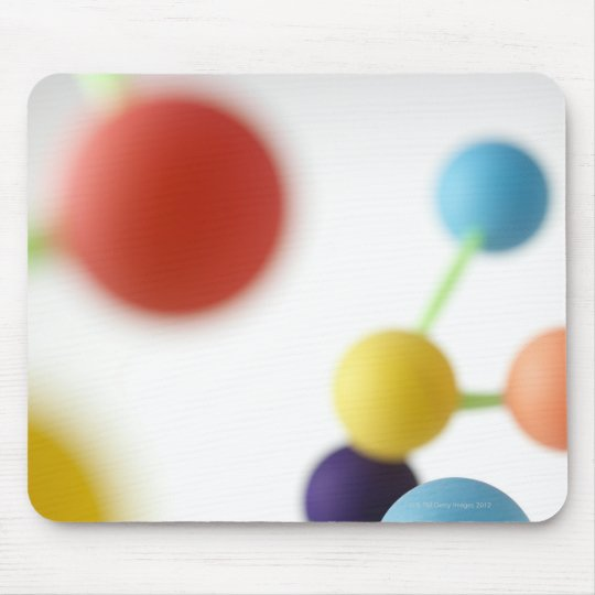 Molecular structure. mouse pad
