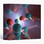 Molecular Structure of Caffeine. Binders
