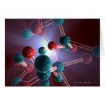 Molecular Structure of Caffeine. Cards