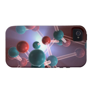 Molecular Structure of Caffeine. iPhone 4 Cases