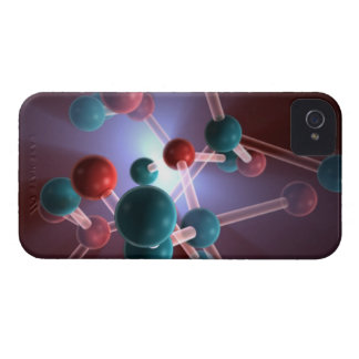 Molecular Structure of Caffeine. iPhone 4 Covers