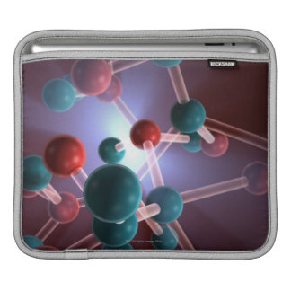 Molecular Structure of Caffeine. iPad Sleeve