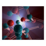 Molecular Structure of Caffeine. Posters