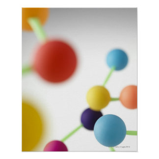 Molecular structure. poster