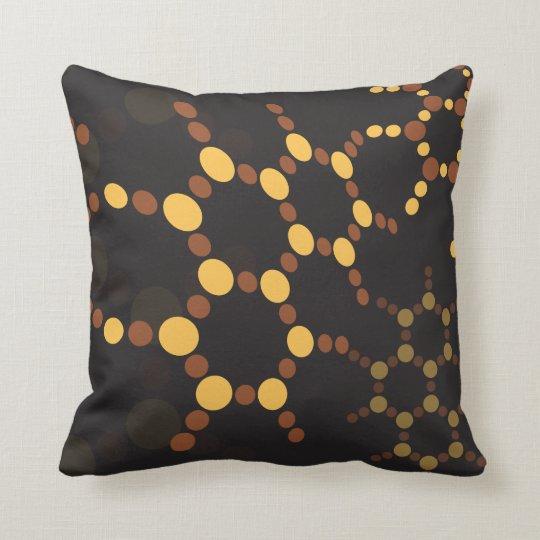 Molecular Structure Throw Pillow