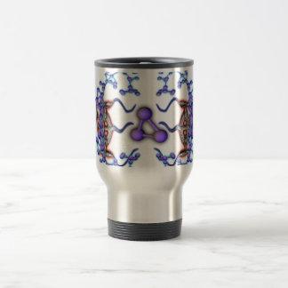 Molecular Struggle Coffee Mugs