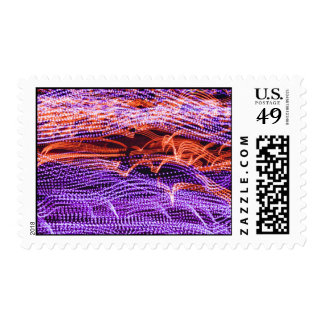Molecular Themed, Micro Spiral Chromosomes Simulat Postage Stamps