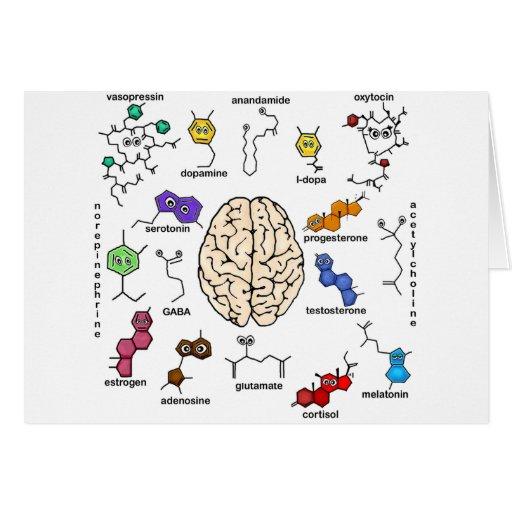 ¡Moléculas a montones! Tarjeta De Felicitación