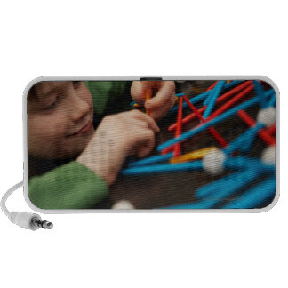 Moléculas de conexión del muchacho para el proyect notebook altavoces