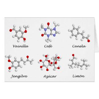 Moleculas de Sabor Card