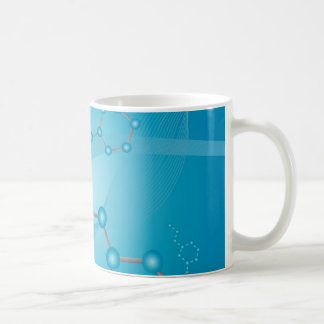 molecule art coffee mug