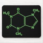 molecule_caffeine alfombrilla de ratones