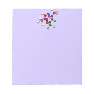 Molecule Memo Note Pad