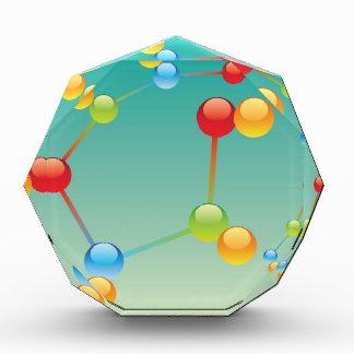Molecule Vector glossy Acrylic Award