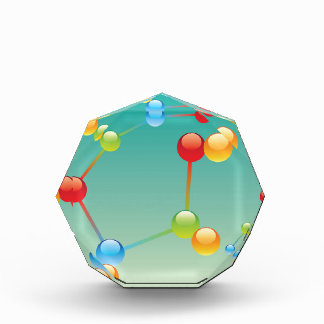 Molecule Vector glossy Award