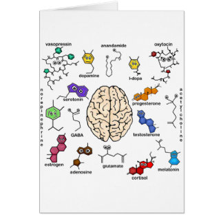 Molecules Galore! Greeting Card