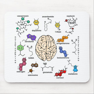 Molecules Galore! Mouse Pad