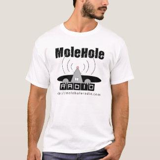 MoleHole Radio White T T-Shirt